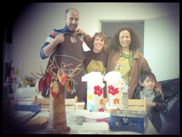 Le premier marché aux poux du baobab Café des enfants avec Emilie Top-Labonne