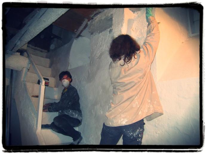 travaux-escalier