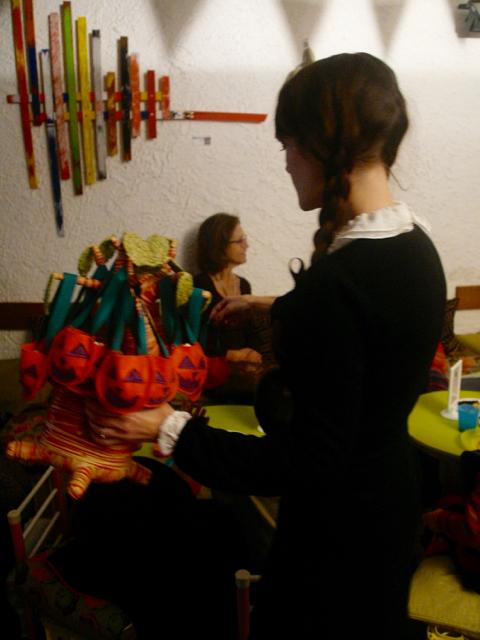Goûter Halloween au Baobab Café des Enfants
