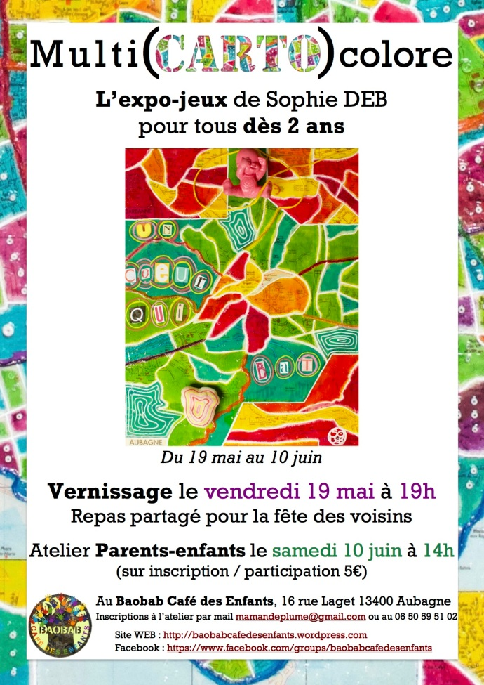 Affiche Expo Baobab