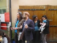 Vernissage de l'exposition de Sophie Deb au Baobab Café des enfants