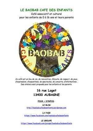 affiches Baobab Café